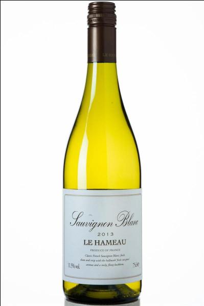 Quel fromage partage le nom d'un vin réputé en blanc ?