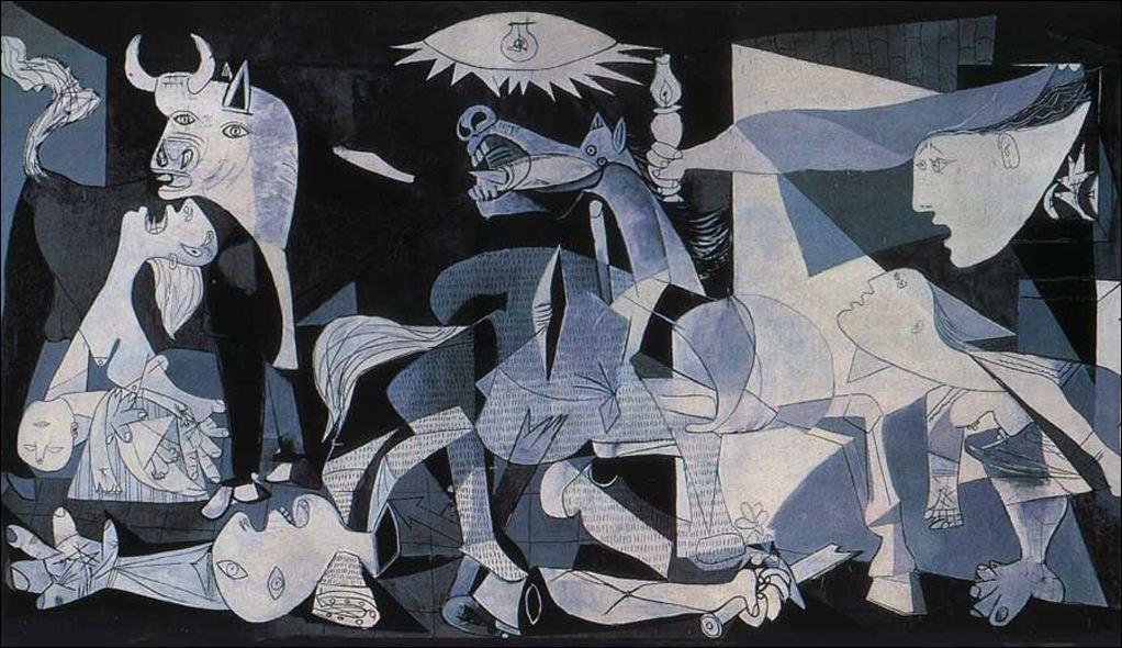 Musée Reina Sofia : Que représente ce tableau intitulé Guernica signé Picasso ?