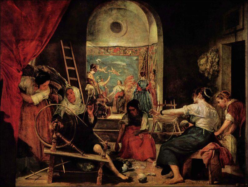 Prado : Comment se nomme se tableau de Velazquéz ?
