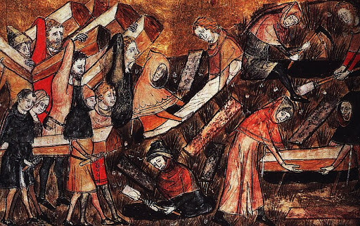 La Grande Peste du Moyen-Âge
