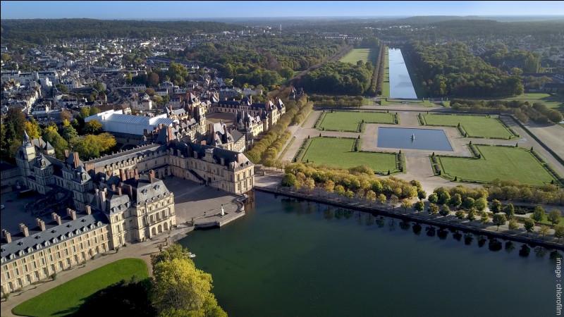 Ville de Seine-et-Marne, célèbre pour son château, résidence royale aux XVIe et XVIIe siècles :