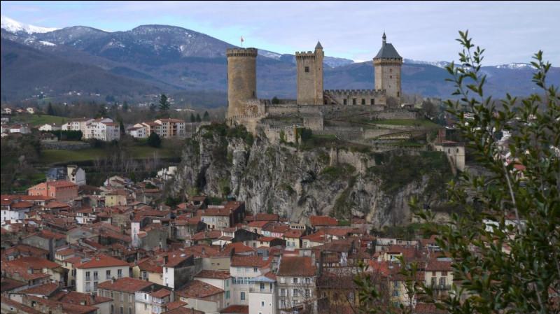 Ville des Pyrénées, chef-lieu du département de l'Ariège :