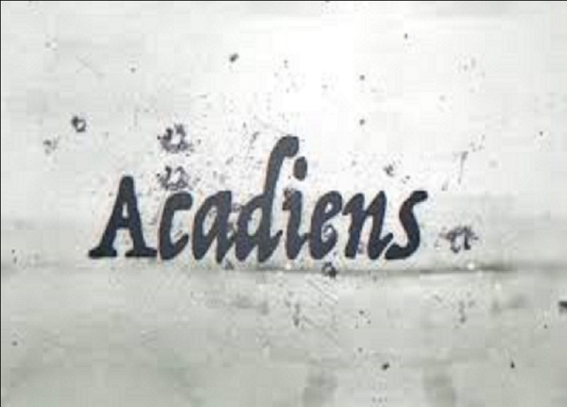 Qui chantait ''Les Acadiens'' ?