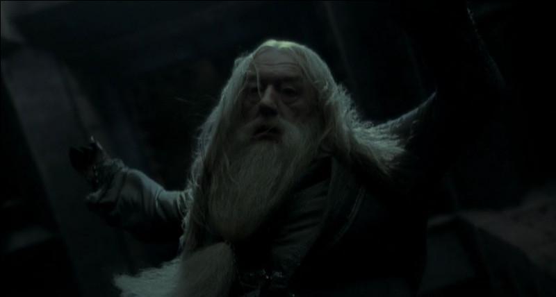 C'est Dumbledore qui a demandé à Rogue de le tuer.