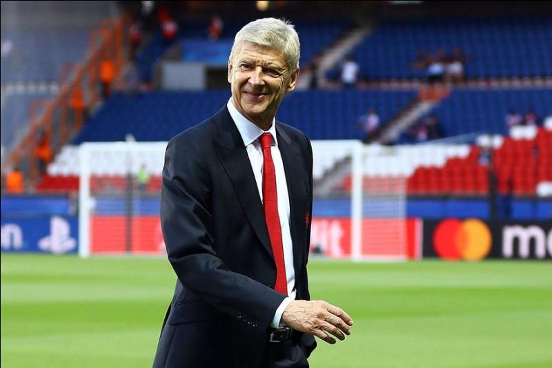 En quelle année, Arsène Wenger a-t-il quitté Arsenal ?