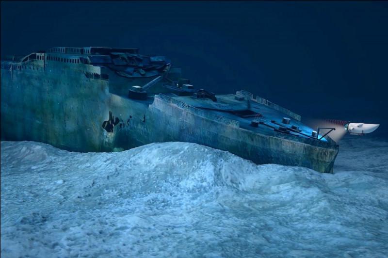 Au large de quelle terre l'épave du Titanic a-t-elle été retrouvée ?