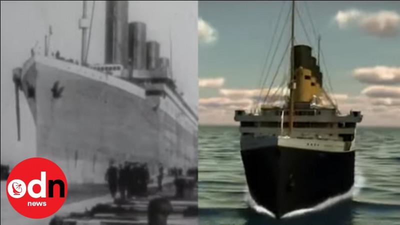 Quel est le nom de la compagnie qui affrétait le Titanic ?