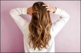Tes cheveux sont :