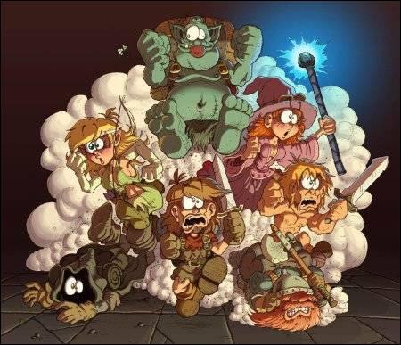 Quel personnage du Donjon de Naheulbeuk es-tu ?