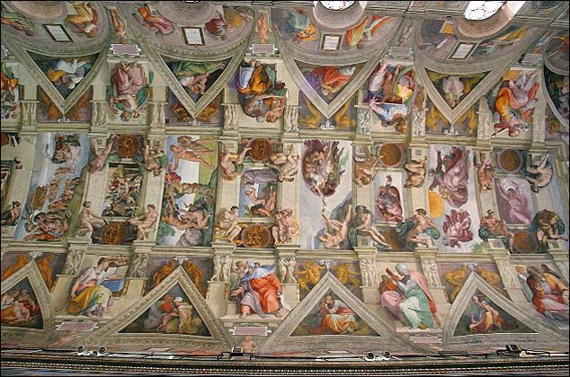 Qui a peint la fresque du plafond de la chapelle Sixtine du Vatican ?