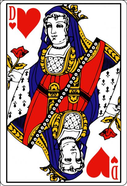 Dans un jeu de cartes, quel est le nom de la dame de cœur ?