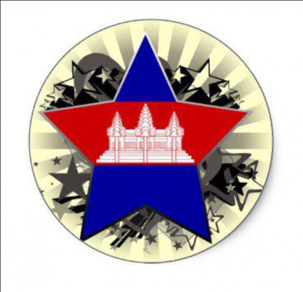 Dans l'étoile, nous distinguons le drapeau du ... .