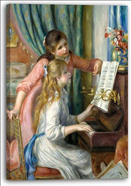 """Qui a peint """"Les Jeunes Filles au piano"""" ?"""