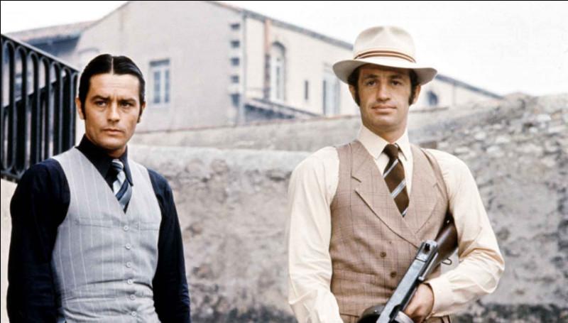 Borsalino, qui raconte les aventures de deux jeunes voyous marseillais incarnés par Alain Delon et Jean-Paul Belmondo, est un film de ...