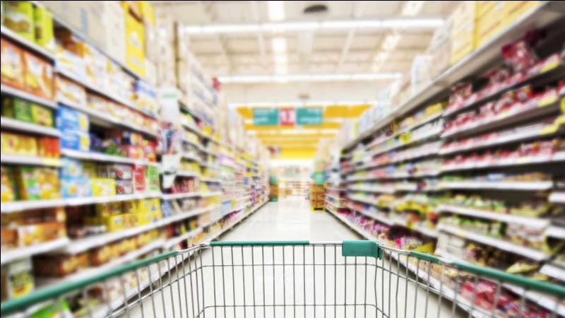 Au supermarché...