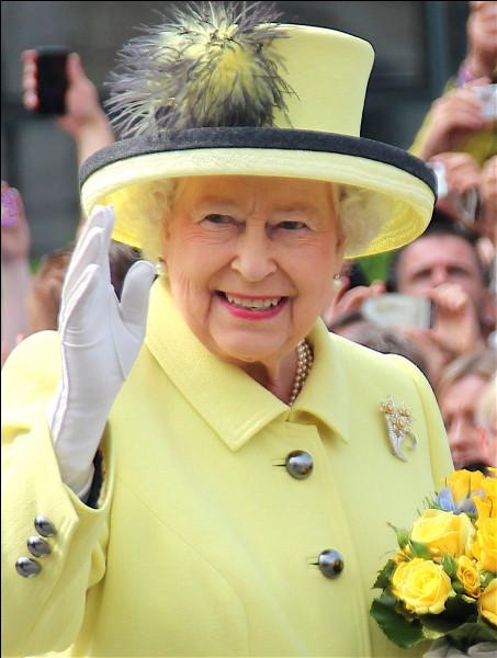 Comment s'appelle la reine d'Angleterre