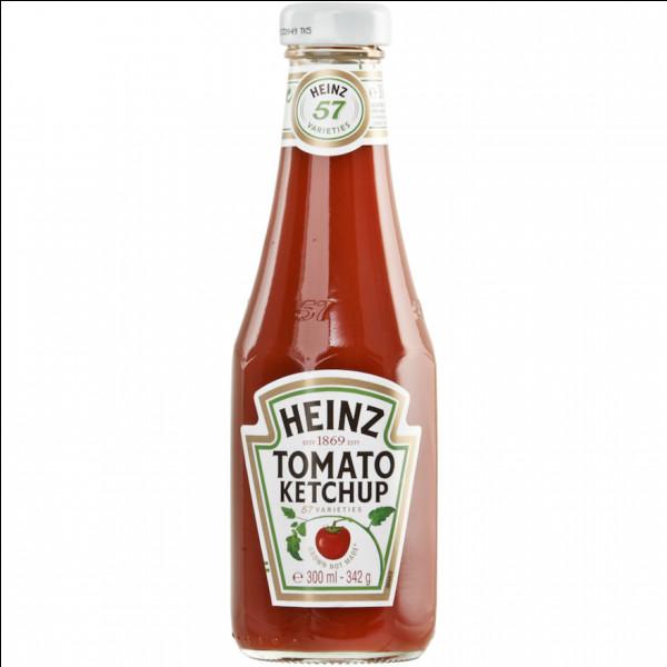 Lequel de ces ingrédients n'entre PAS dans la composition du ketchup