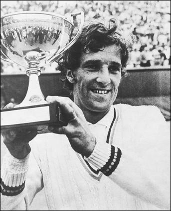 C'est la première des deux victoires à Roland Garros de ce tennisman tchécoslovaque :
