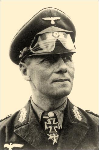 Qui est cet Erwin, général et maréchal allemand, commandant de l'Afrikakorps. Compromis dans l'attentant visant à tuer Hitler, il se suicide le 14 octobre 1944 ?