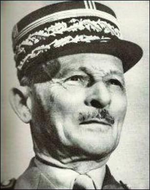 Qui est ce Maxime, généralissime, commandant de l'armée française en 1940, il est déporté et interné en Allemagne en 1942 jusqu'à la fin de la guerre, mort en 1965 ?
