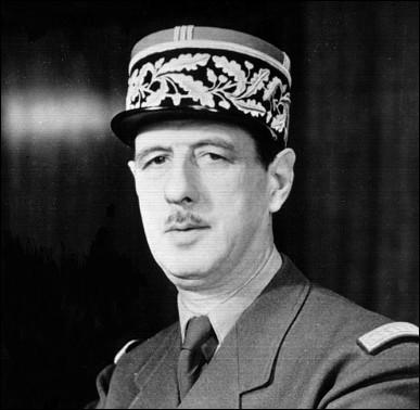 Qui est ce Charles, général de brigade, résistant, très grand homme d'État et écrivain, mort en 1969 ?