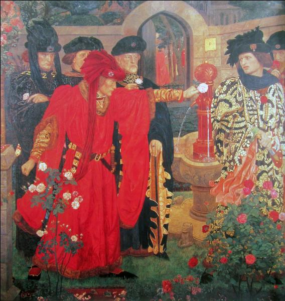 Quelle guerre ayant opposé les Lancastre et les York a conduit à la naissance de l'Empire britannique en 1583 ?