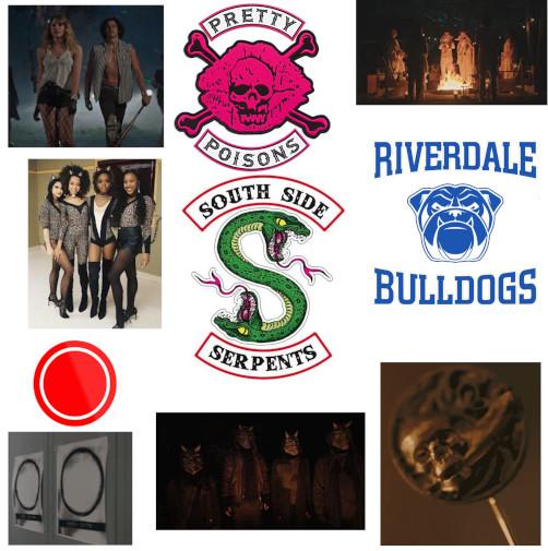 Riverdale - Gangs et groupes