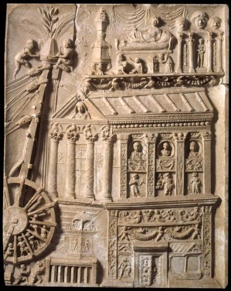 En technique de construction, lequel de ces trois éléments fut inventé par les romains ?