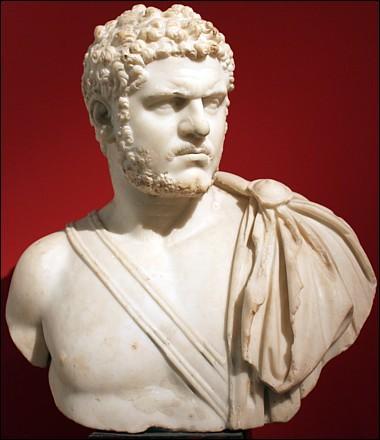 Quelle décision importante fut prise pour les habitants de l'Empire en l'an 212 de notre ère par l'empereur Caracalla ?