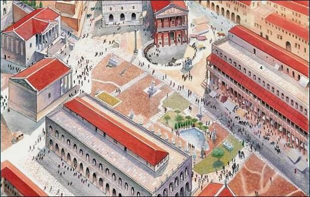 Rome fut gouvernée au début de son histoire par des rois. L'un d'eux fut le bâtisseur du célèbre Forum Romain. Lequel ?