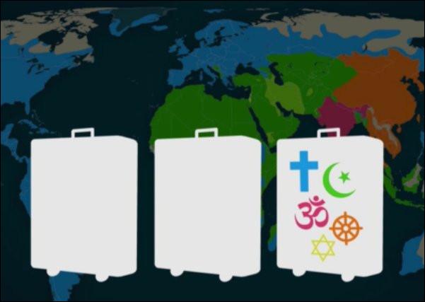 Péril pèlerin > Il y avait, en 2015, 350 millions de pèlerins, toutes confessions confondues : ceci représente 1 touriste sur [combien ?]. Quel est le plus grand pèlerinage chrétien ?