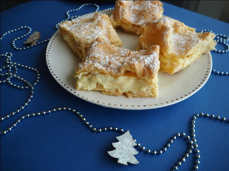 Le karpatka est une tarte traditionnelle de Pologne.