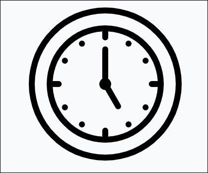 Comment faites-vous pour avoir l'heure ?