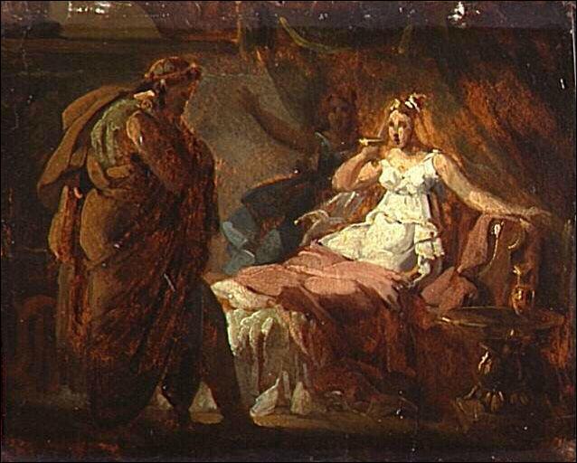 Sophonisbe, reine carthaginoise, épouse du roi numide Syphax, s'empoisonna préférant la mort au déshonneur de...