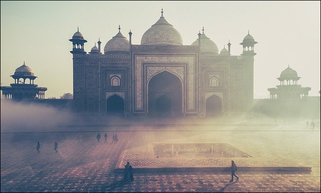 Où se situe le Taj Mahal ? (La photo)