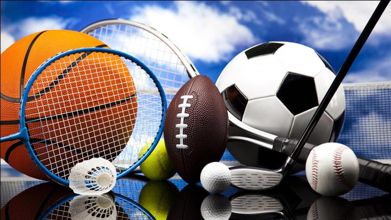 Quel sport préfères-tu entre ceux-là ?