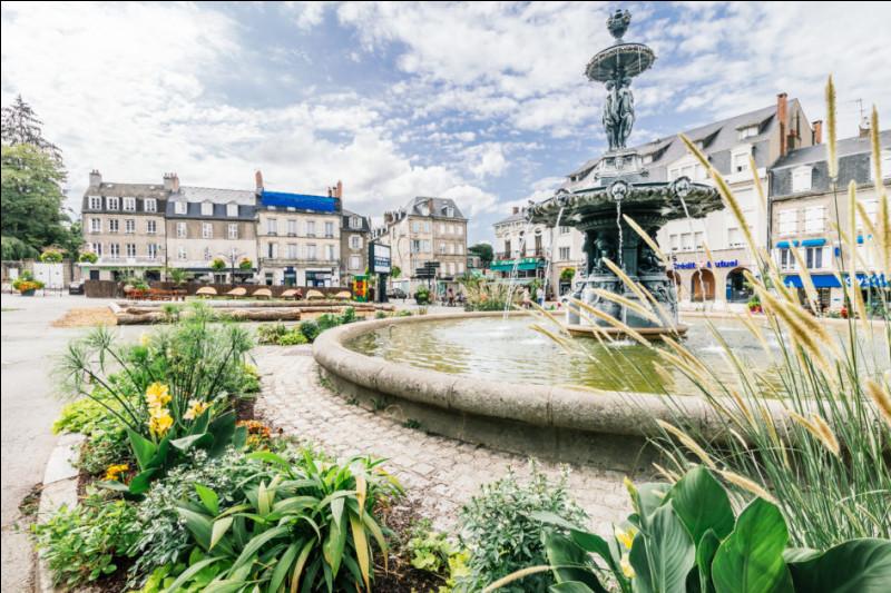 Dans quel département trouve-t-on la ville de Guéret ?