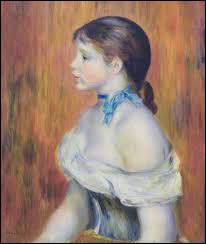 """Qui a peint le tableau intitulé """"Jeune Fille au ruban bleu"""" ?"""