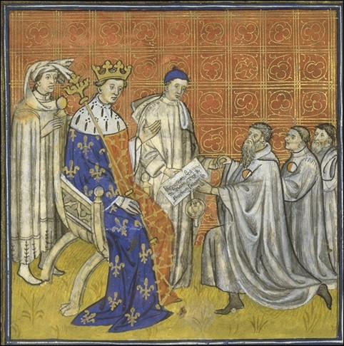 En juin 1316, quel roi meurt après avoir bu du vin glacé alors qu'il s'est échauffé lors d'une partie de jeu de paume à Vincennes ?