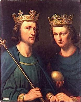 Le 5 août 882, Louis III se fracasse le crâne contre le linteau d'une porte trop basse et tombe de cheval. Que poursuivait-il ?