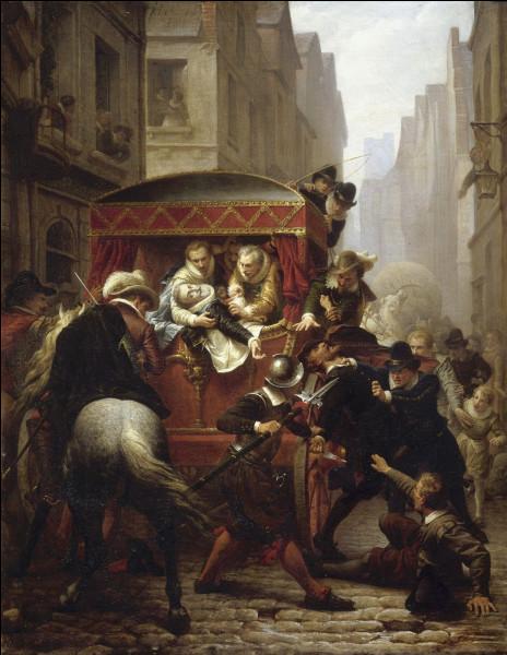 Deux rois de France portant le même prénom sont morts poignardés par un fanatique catholique. Qui sont-ils ?