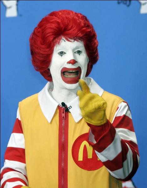 Comment s'appelle le clown mascotte de McDonald's
