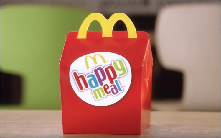 En quelle année a été lancé le Happy Meal?