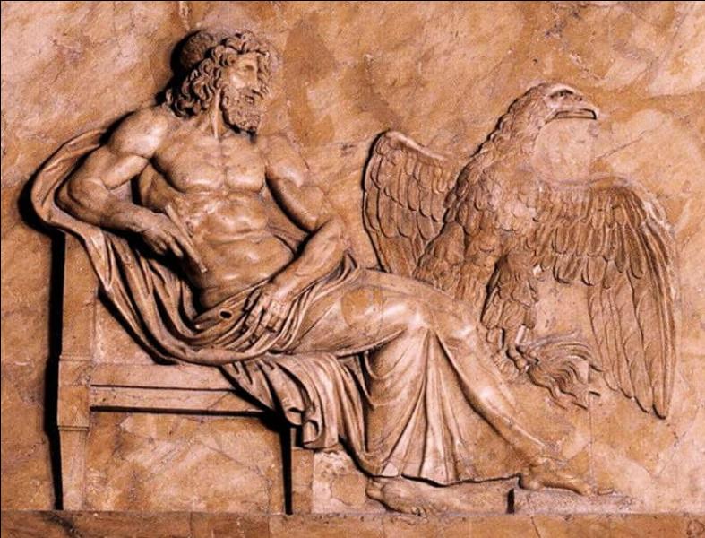 Dans la mythologie grecque, qui est le roi des dieux ?