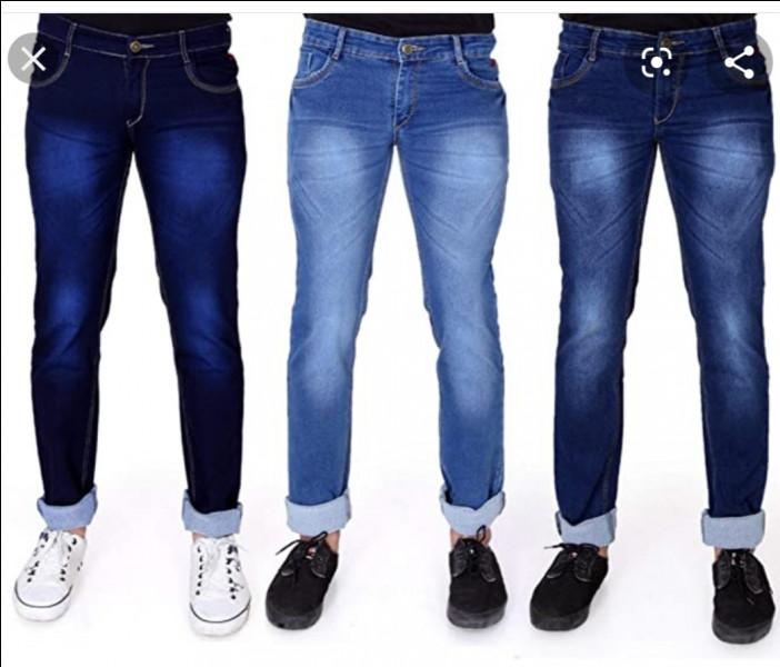 Durant quelle décennie du XXème siècle, le jeans devient-il un vêtement de loisir ?