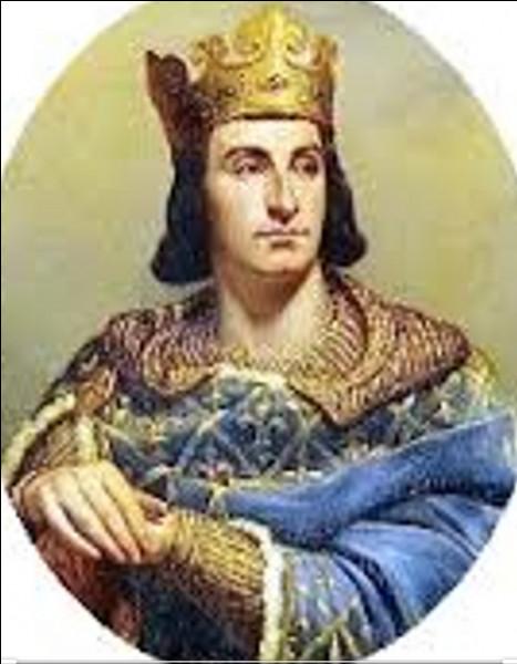 Quel roi de France a été le premier à s'habiller en bleu ?