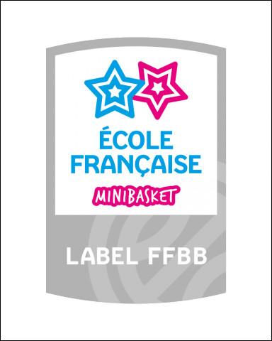 En quelle année a été renouvelé le Label Ecole Française de Mini Basket du club ?