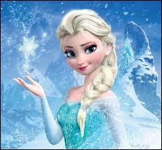 Qui est cette princesse qui a le pouvoir de créer et contrôler la neige et la glace ?