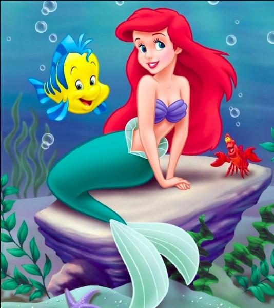 Comment s'appelle cette princesse curieuse, aventureuse et qui rêve de vivre dans le monde humain ?