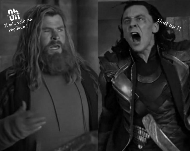 Qui est Thor par rapport à lui ?